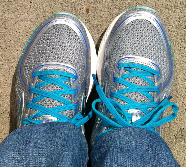 My New Brooks Adrenaline Gts 16 Shoes - for Fitness Walking